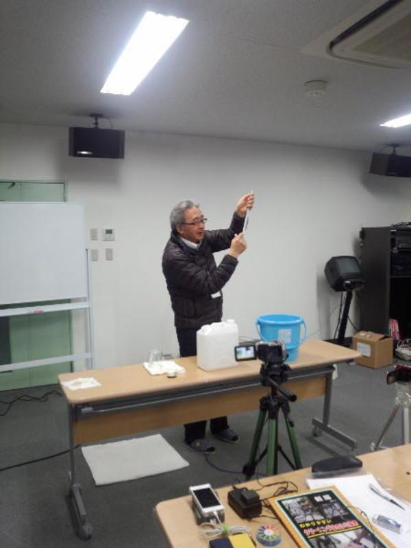 桑原義行先生の「洗浄理論の合宿講座!」 平成26年7月12日(土)~13日(日)